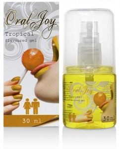 ŻEL TROPIKALNY ORAL JOY DO SEXU ORALNEGO 30ML