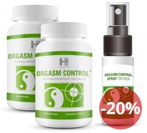 ORGASM CONTROL120TAB+SPRAY 15ML
