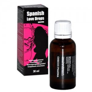 AFRODYZJAK SPANISH LOVE DROPS 30ML